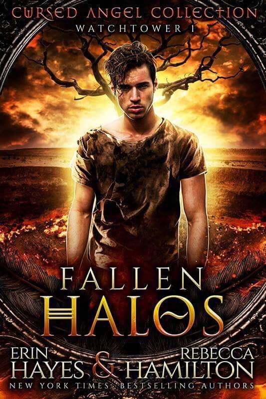 Fallen Halos, Cursed Angels Collection, Adult, Fantasy, Erin Hayes, Rebecca Hamilton