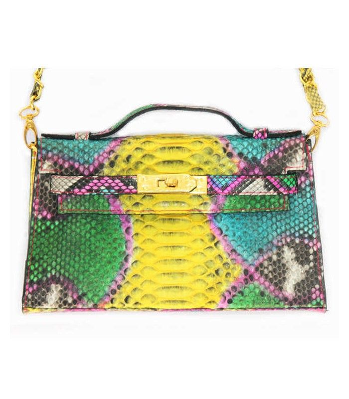 Miriam Stella Fashion Jewelry - Borsa Kelly mini #miriamstella #fashionblogger #moda #fashion #madeinitaly #fashionjewelry #multicolor #bag #kelly #kellybag #minikelly
