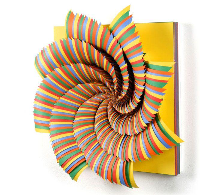 Best Jen Stark Paper Art Images On Pinterest Art Fair - Mesmerising hand crafted paper sculptures jen stark