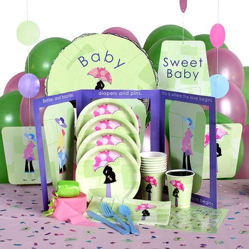 Cute Baby Shower Tableware