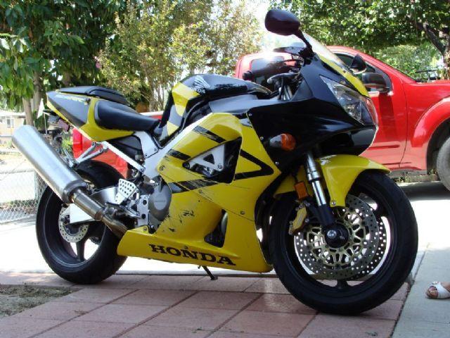 2001 Honda CBR929RR Sportbike , yellow/black, 17,167 miles for sale in La Puente, CA