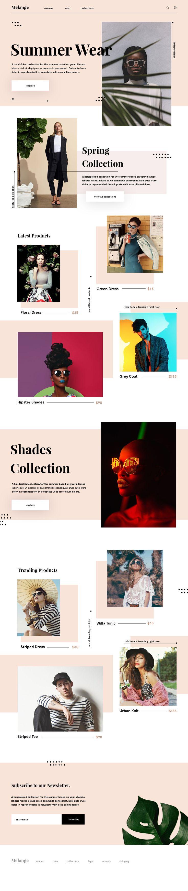 Melange website
