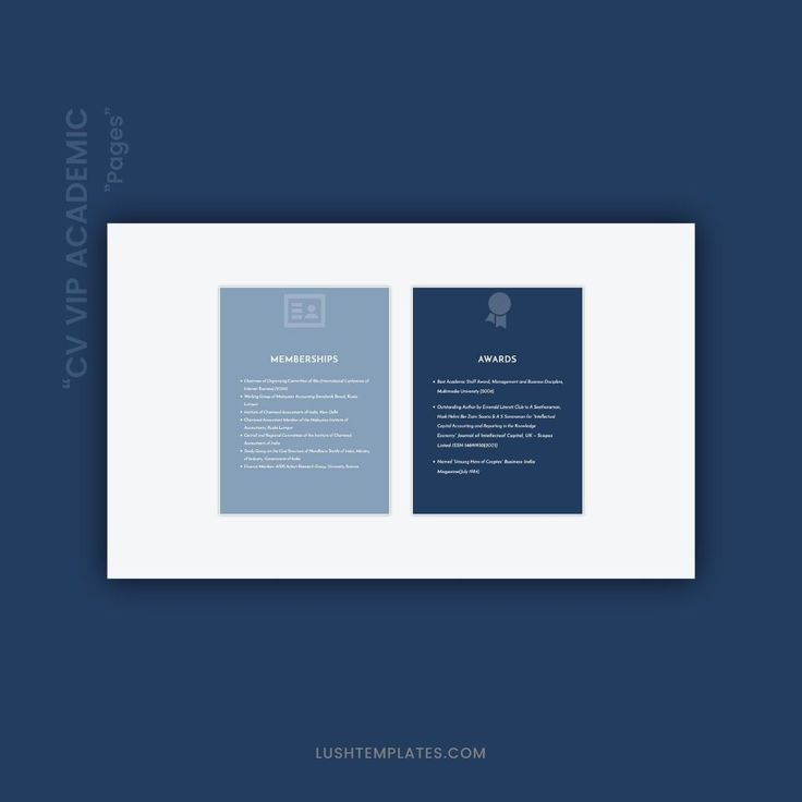lushtemplatesforweb posted to instagram  the  u0026quot cv academic u0026quot  is a resume template package created