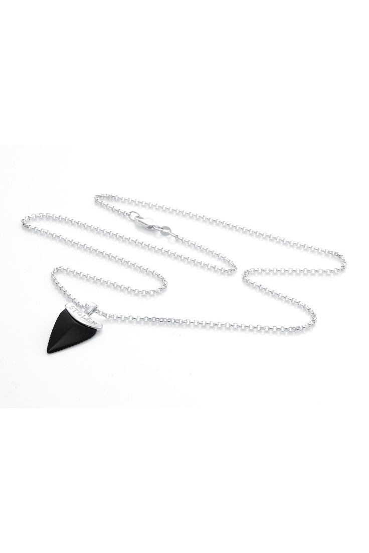 Jaws Necklace Onyx - View All - Jewellery | Stolen Girlfriends Club