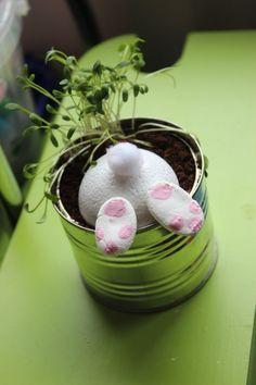 Nos productions : bricolage de Pâques.