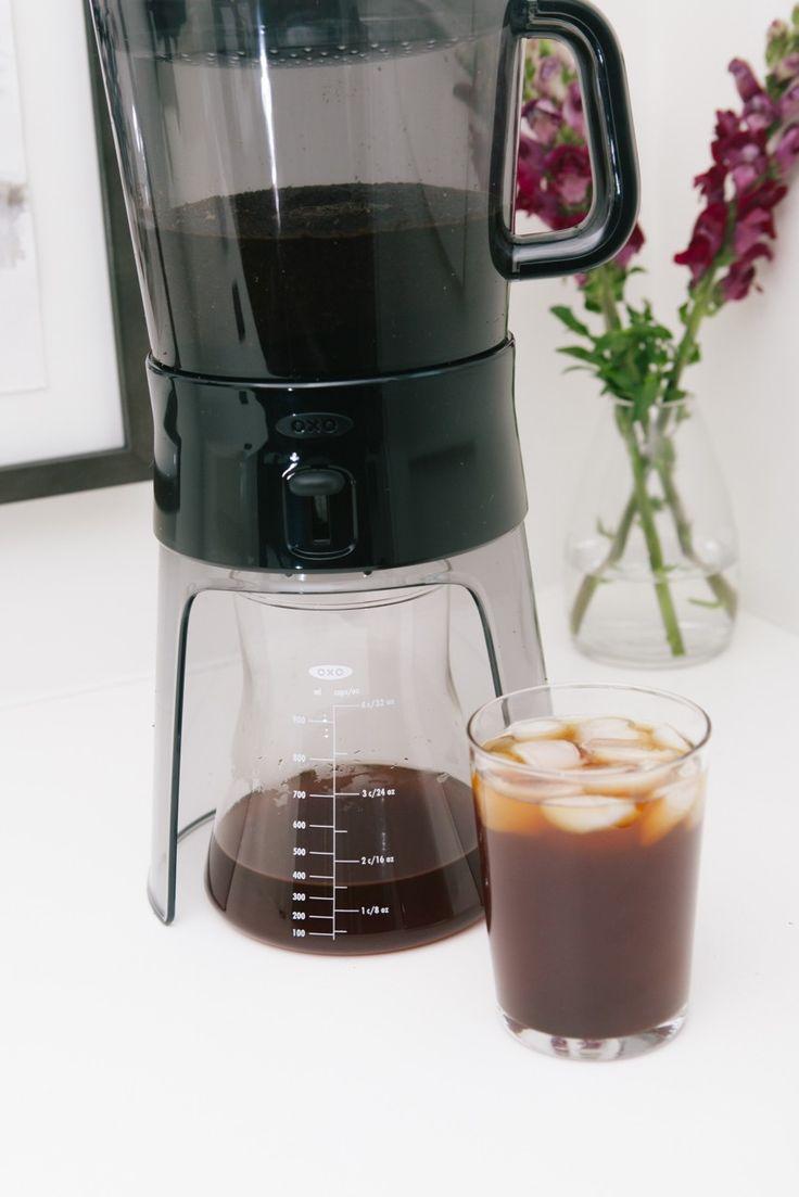 cold brewed coffee machine