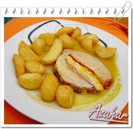 La Cocina de Azahar - Recetas Thermomix: CINTA DE LOMO DE CERDO RELLENA