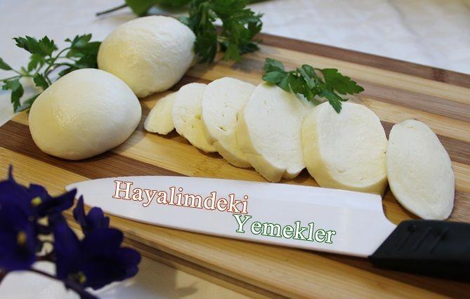Mozzarella Peyniri Nasıl Yapılır | Resimli Yemek Tarifleri Hayalimdeki Yemekler