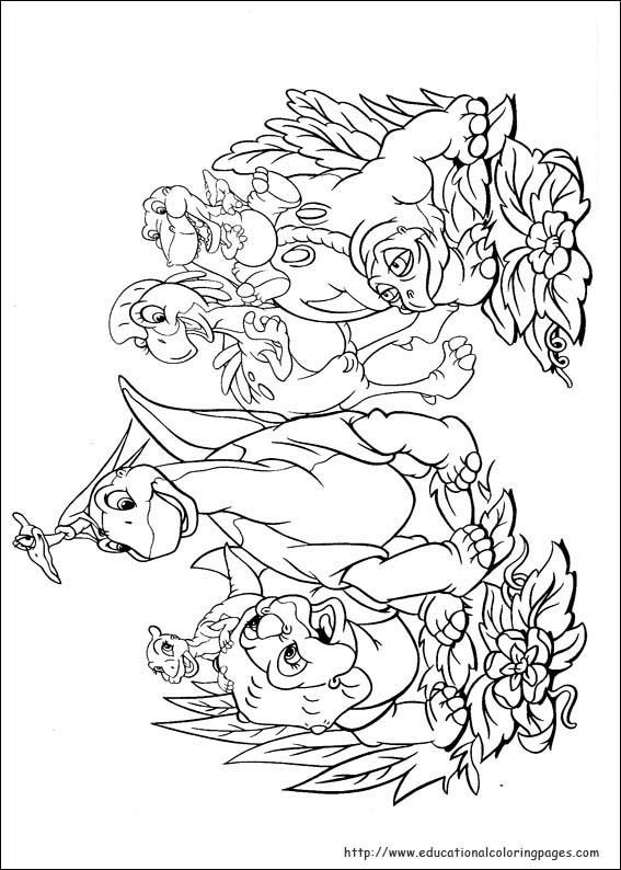 Land Before Time 04 Dinosaur Coloring Pages Coloring Pages Coloring Pictures