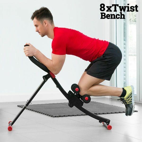 Bauchtrainer Bauchmuskeltrainer Fitnesstrainer Fitnessgerät Krafttraining