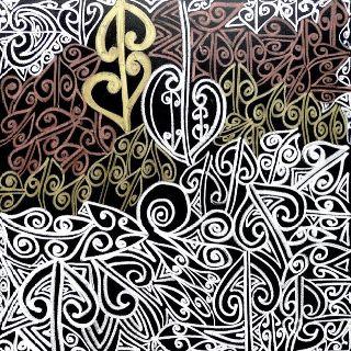 Wairua painting, Tracey Tawhiao