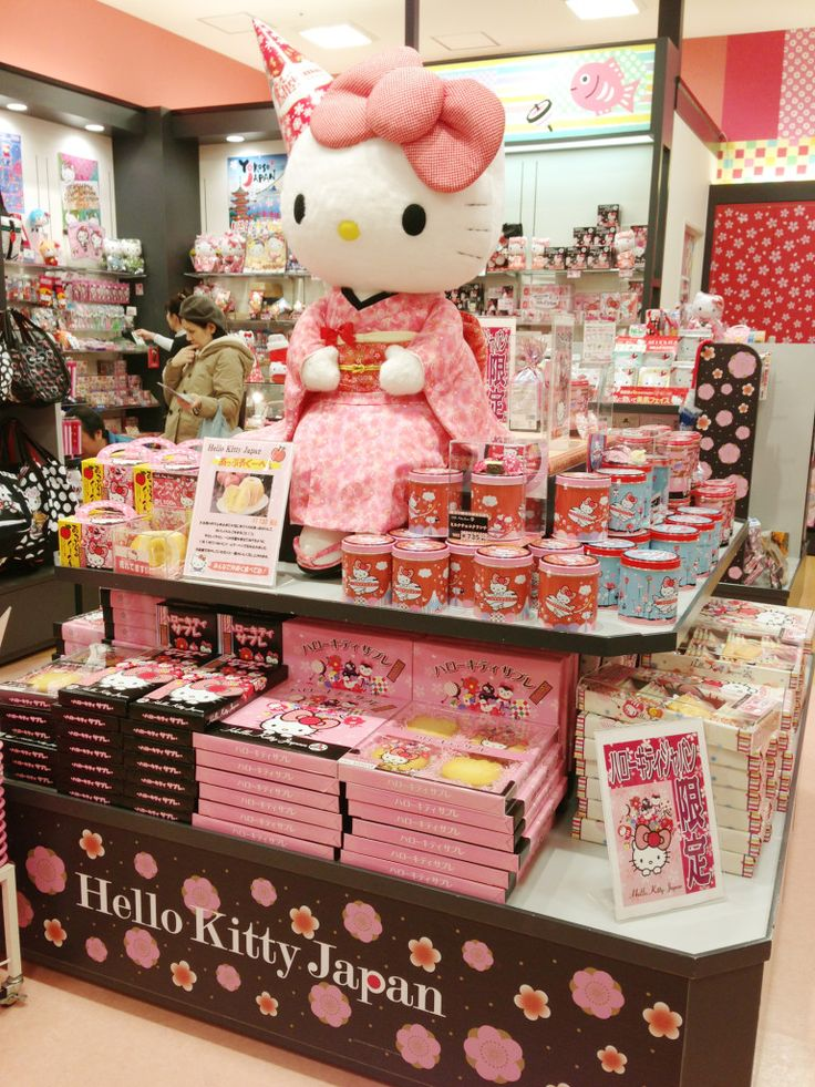 Go to Hello Kitty Store Japan @ Tokyo Solamachi. Everything that a Hello Kitty fan would dream to see can be found in this paradise in Tokyo Solamachi, found at Tokyo Skytree!