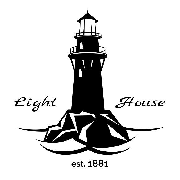 Ideal Lighthouse Silhouette Vector Download Silhouette Clip Art Silhouette Art Silhouette Vector