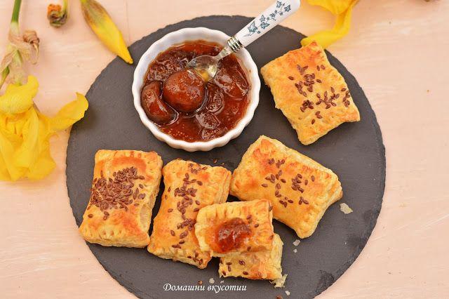 Домашни вкусотии: Бутер соленки със сирене Бри