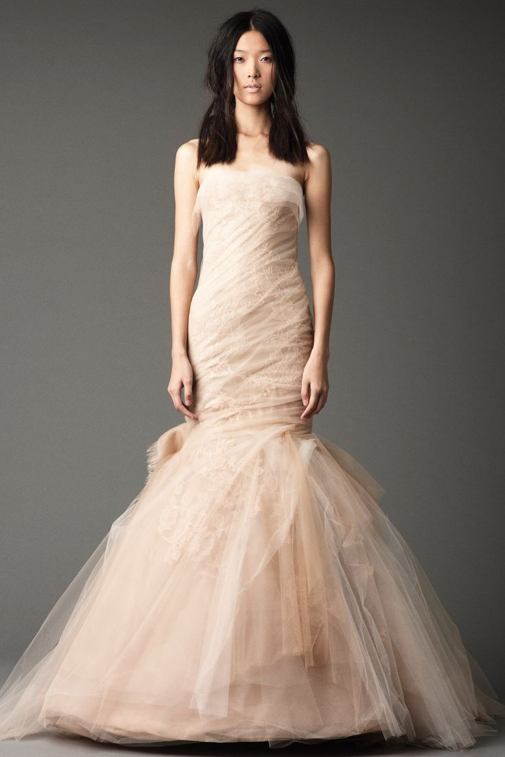 Vera Wang Fall 2012 Bridal Collection Wedding DressesMermaid