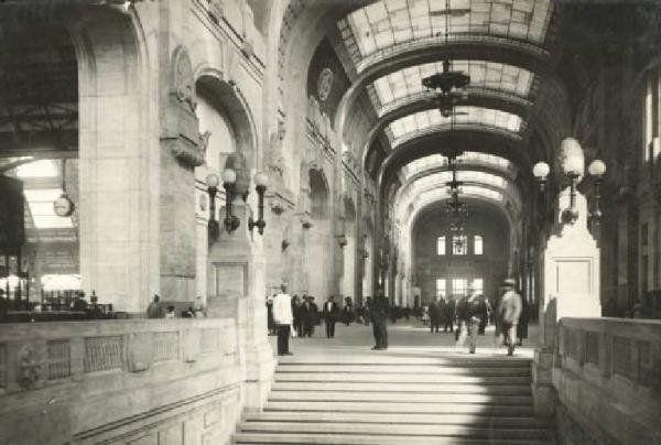 Stazione Centrale 1931 circa
