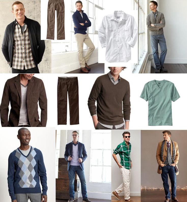 Wardrobe inspiration for men...  Layers, layers, layers!