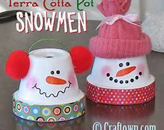 Terra Cotta Pot Christmas Crafts - Bing Images