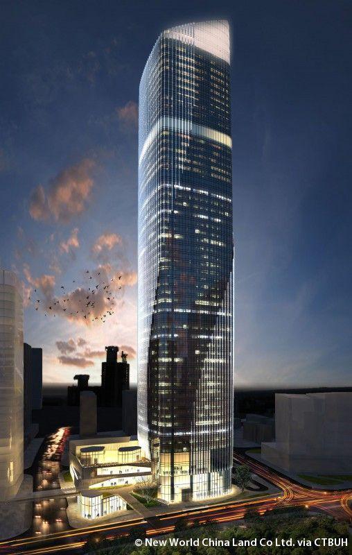 Ningbo New World Plaza 1 - The Skyscraper Center