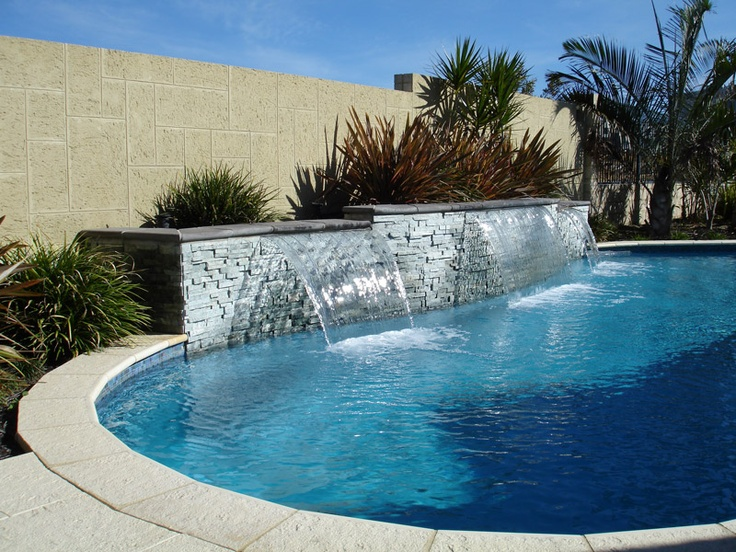 17 best ideas about pool features on pinterest swimming for Water pool design