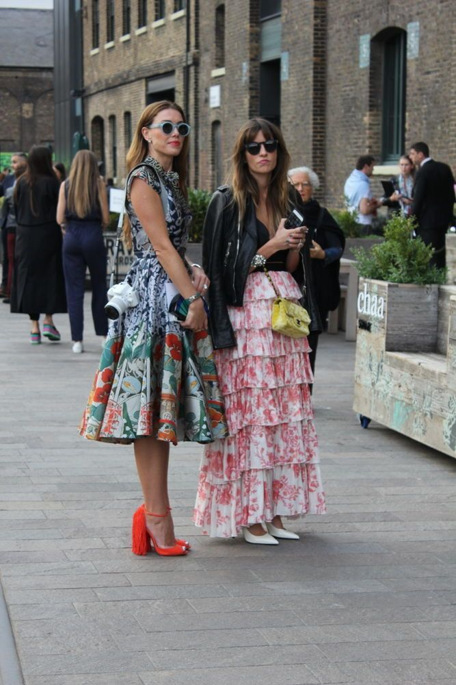 Streetstyle LFW 2: Sofie Valkiers in Louis Vuitton en andere stijlvolle fashionista's