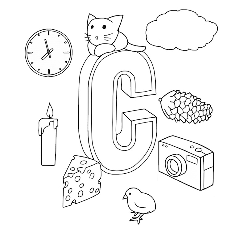 C. Coloring book ABC for iPad