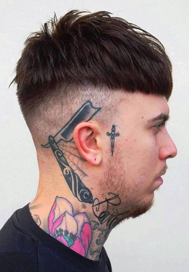 Lil Peep Hairstyle Name In 2020 Crop Haircut Long Hair Styles Men Hairstyle Names
