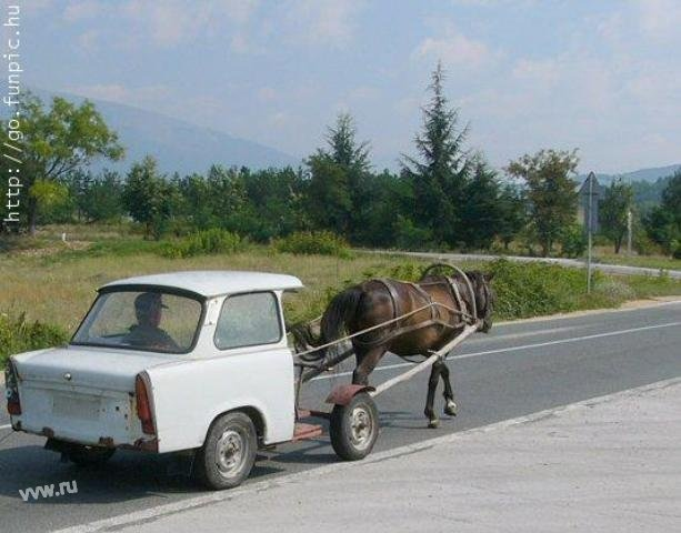 trabant - there were Amish in East Germany!