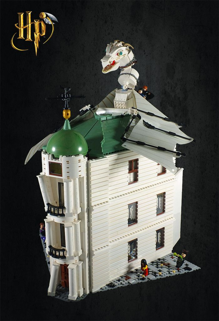 """LEGO Harry Potter: Escape from Gringotts!"" by Umm Who?: Pimped from Flickr"