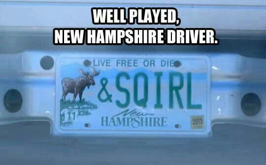 OH MY FREAKING GOAT! BEST LICENSE PLATE OF ALL TIME!!!!!!!!!! i don't care if you're a spn fan or not this is EPIC!