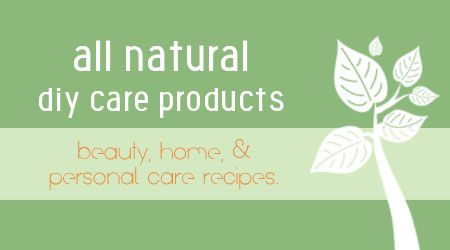 The mother-load of DIY all natural personal care recipes and tutorials! Bronzer, Mascara, Facial Cleanser, Shampoo, Conditioner, Lip Balm, Deodorant, Blemish Remover, Body Spray, Hand Soap, Dish Detergent, Air Freshner, Glass Cleaner, Fabric Softner and Bleach - Plus More.