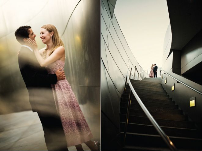 Magical Engagement Session at Walt Disney Concert Hall - Belle The Magazine