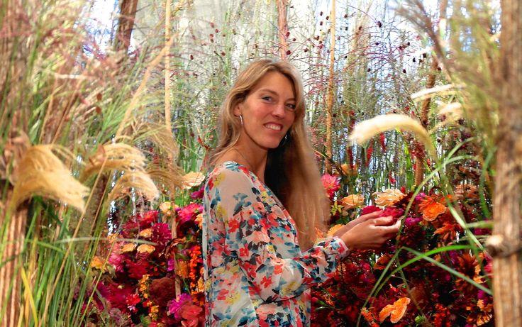"""Flower-Lane between nature"" by Lucinda van der Ploeg"