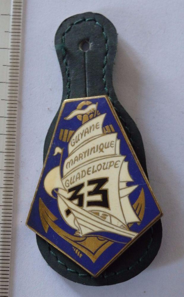 insigne militaire-pucelle 33° REGIMENT INFANTERIE DE MARINE DRAGO G1897