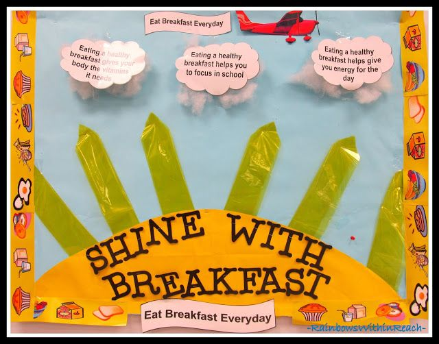 Classroom Breakfast Ideas ~ Best images about school cafeteria bulletin boards on