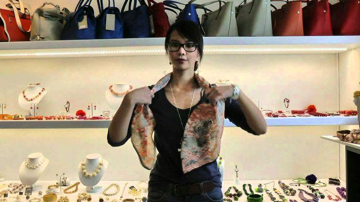 knooptechnieken vierkante sjaal | Babazou