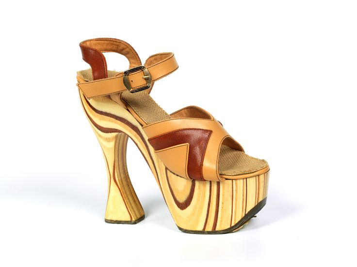 This shoe was chosen from our Shoe Collection archive by designer Joanne Stoker to feature in the exhibition: My Favourite Shoes at Westfield.
