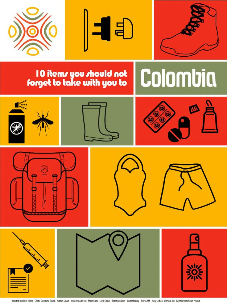 Colombia is an incredible country which you need to be well-prepared for. Even the most hardened travelers should follow this small list of things not to be forgotten.