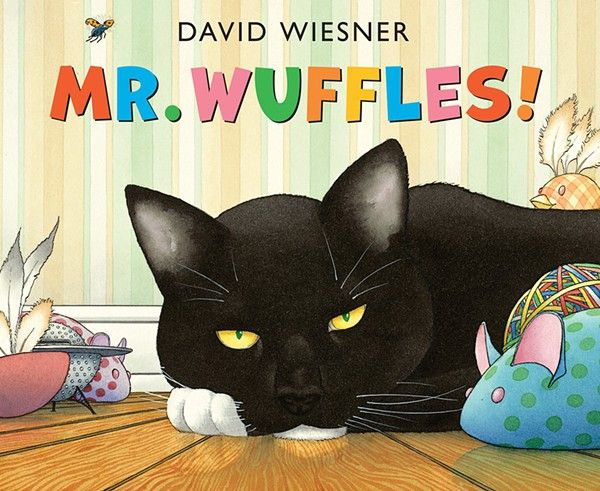 David Weisner (2013) Mr. Wuffles!. London: Anderson Press