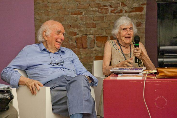 """L'incontro """"Humour in architettura, design e arte"""" del 2 luglio, con Sergio Jaretti Sodano e Il Pensatoio. Foto di Jana Sebestova #AIC2015 #sconfinamenti"""