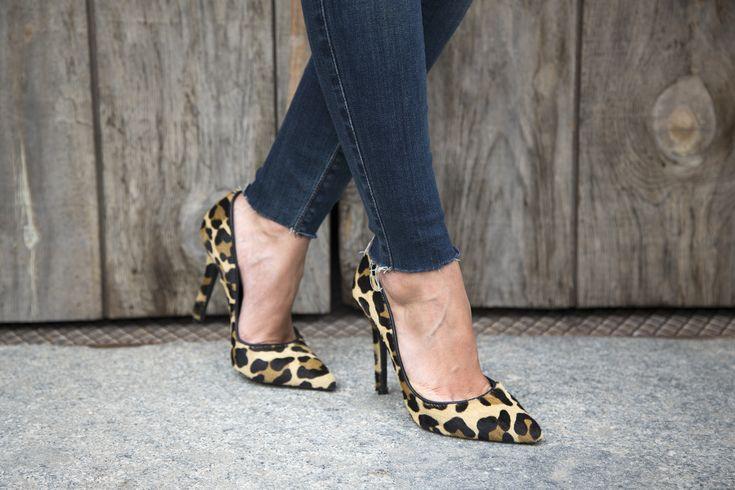 LovelyPepa with stilettos Berta Leopard cowhide from MAS34 #mas34stilettos