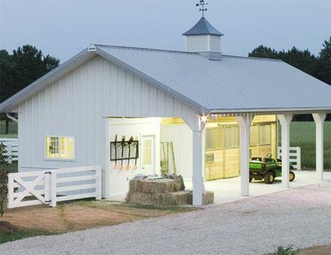 #Small #horse #barn #storage #Open #stalls #animals #Horse #abierto #Design #Decor #ideas #caballos #diseño #decoracion #horses #view #pesebreras #cavalos #kisakiclub #Almacenamiento