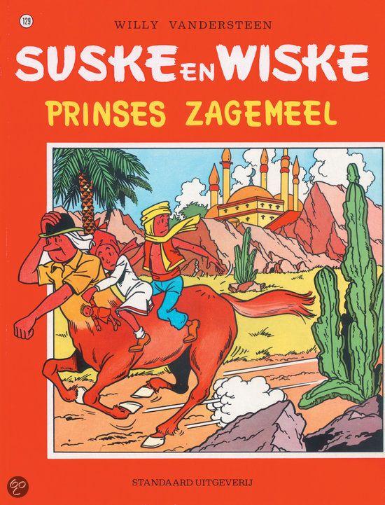 Suske en Wiske: Prinses Zagemeel (129). Een Arabier heeft het op Schanulleke gemunt. Als Wiske haar niet wil afgeven, steelt hij haar. Lambik vindt het popje terug maar hij wordt omgekocht door twee vrienden van de Arabier: als hij hen Schanulleke geeft, krijgt hij in ruil een toverformule. Lambik hapt toe en verandert in een centaur. Intussen ontdekken onze vrienden dat het zagemeel waaruit Schanulleke bestaat de resten zijn van een Arabische prinses die is omgetoverd.