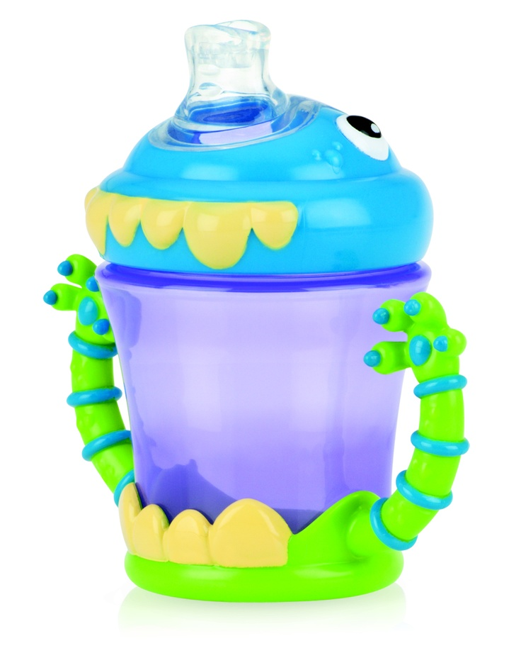 Nuby i Monster No Spill cup. Available from www.nuby-uk.com