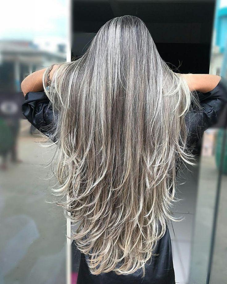 Graue Haare Der Neue Trend Archzine Net Coiffure Blonde