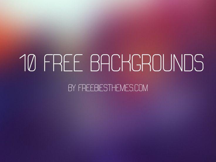 10 Adet Ücretsiz Yüksek Kalite Bulanık Arka Plan