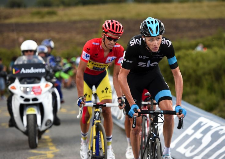 2014 vuelta-a-espana photos stage-20 - Chris Froome and Alberto Contador caught and passed Rodriguez