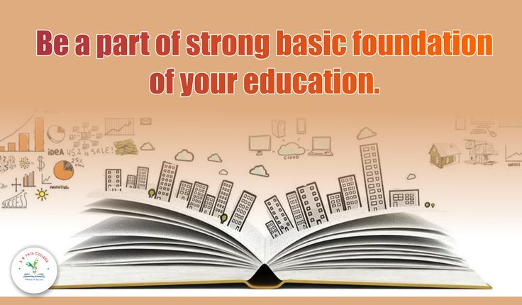 Be visible in the world of success. Engage yourself in the basic #education #foundation #course #SBPatilCollegehttp://sbpatilcollege.com