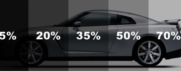 What Are The Materials Required For Car Window Tinting Tinted