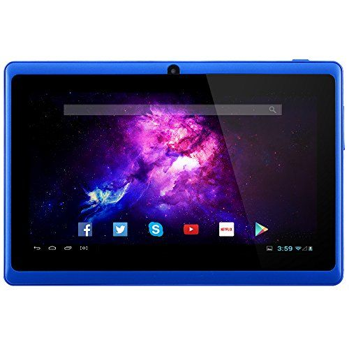 nice Alldaymall A88X Tablet de 7'' - Android 4.4, Quad Core, HD 1024x600, doble cš¢mara, Bluetooth, Wi-Fi, 8GB, juegos 3D compatibles
